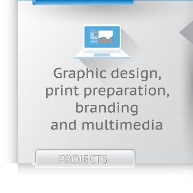 Graphic design, print preparation, branding and multimedia
