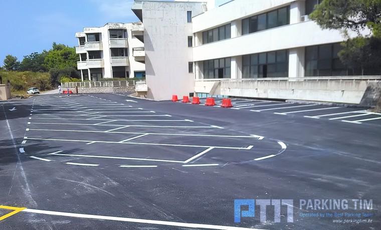 PARKING TIM d.o.o. započeo sa građevinskim radovima te asfaltiranjem novih parkirališnih mjesta u gradu Dubrovniku