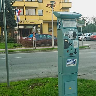 Grad Đurđevac - otvoreno javno parkiralište