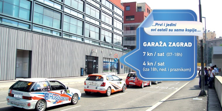 GARAŽA ZAGRAD – PARKING TIM